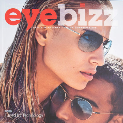 gloryfy Eyebizz Magazine Gi16 Headliner Black and White sunglasses